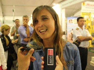 """Rocío Giaccone, en Mar del Plata: """"La gente eligió en su mayoría vacacionar en la Argentina"""""""