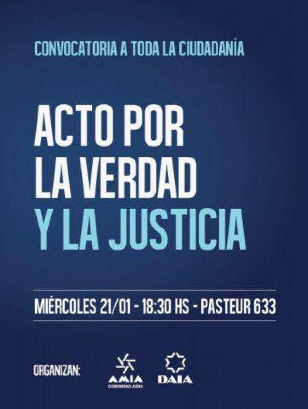 Acto por la verdad y la justicia