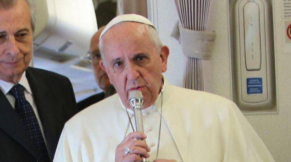 Papa Francisco reitera rechazo a corrupción: Pecadores sí, corruptos no