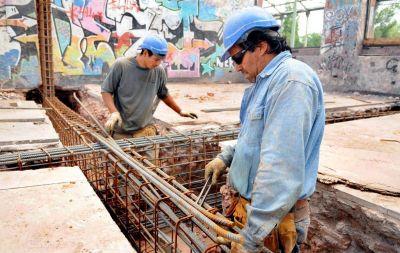 Preparan el terreno para los rieles del Metrotranvía a Las Heras