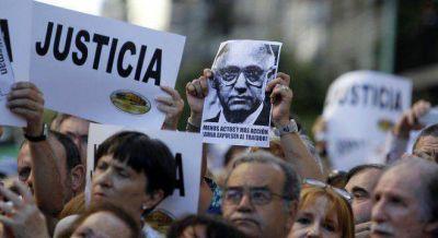Ningún funcionario del gobierno fue al acto en homenaje a Nisman