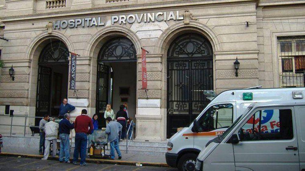 Médicos provinciales de Amra y Siprus van al paro este jueves