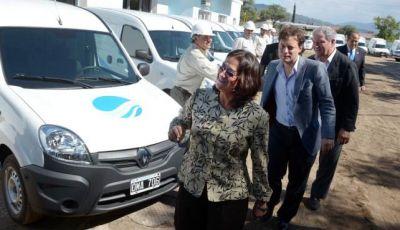 Nuevos móviles para Aguas de Catamarca
