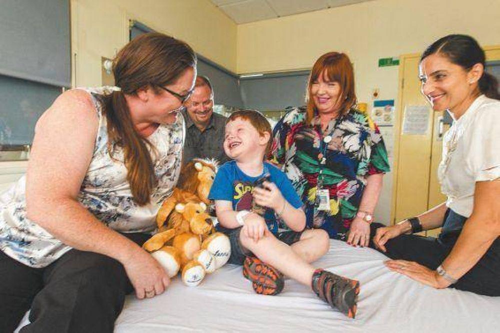 Lucha contra la diabetes: un nene recibió el primer páncreas artificial