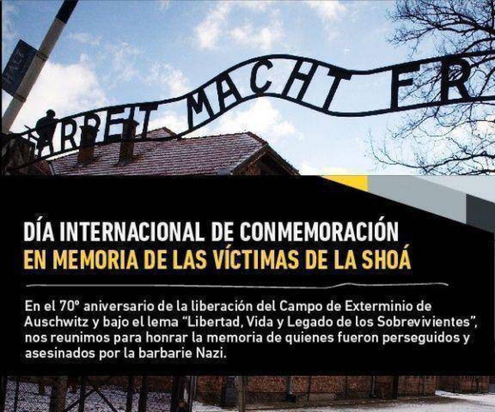Se conmemorará en AMIA el Día en Memoria de las Víctimas de la Shoá