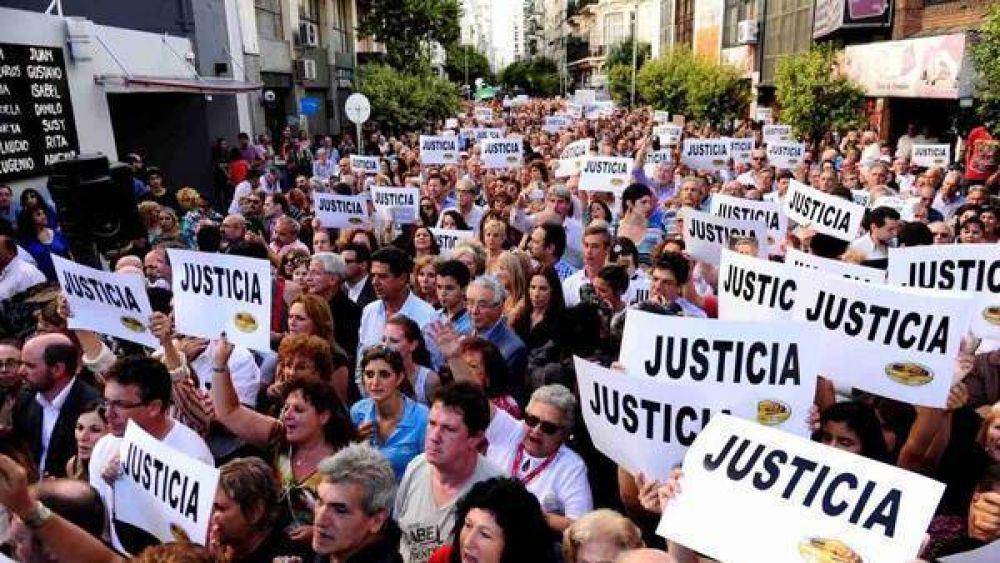 Marcha por Nisman en la AMIA: