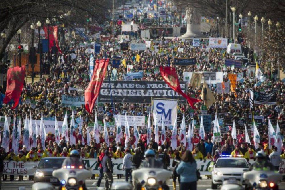 En EE.UU. marcharon por la vida y también en reclamo de una nueva reforma migratoria