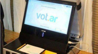 Confirmado: las elecciones porteñas serán con el sistema de voto electrónico