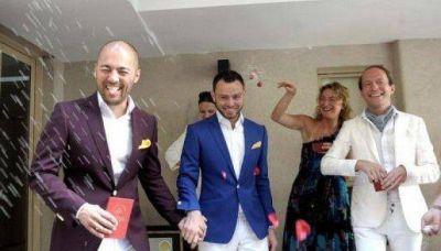 Se casó en Buenos Aires una pareja de ciudadanos rusos