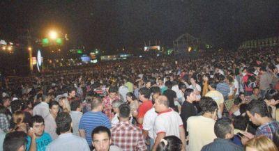 Sostenida convocatoria en la Fiesta del Chamamé