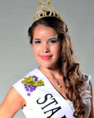 Rivadavia coronó a María Florencia Álvarez como su Reina de la Vendimia 2015