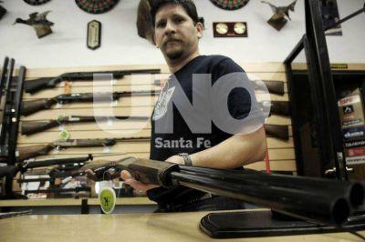 Hay cinco comercios habilitados para vender armas en Santa Fe