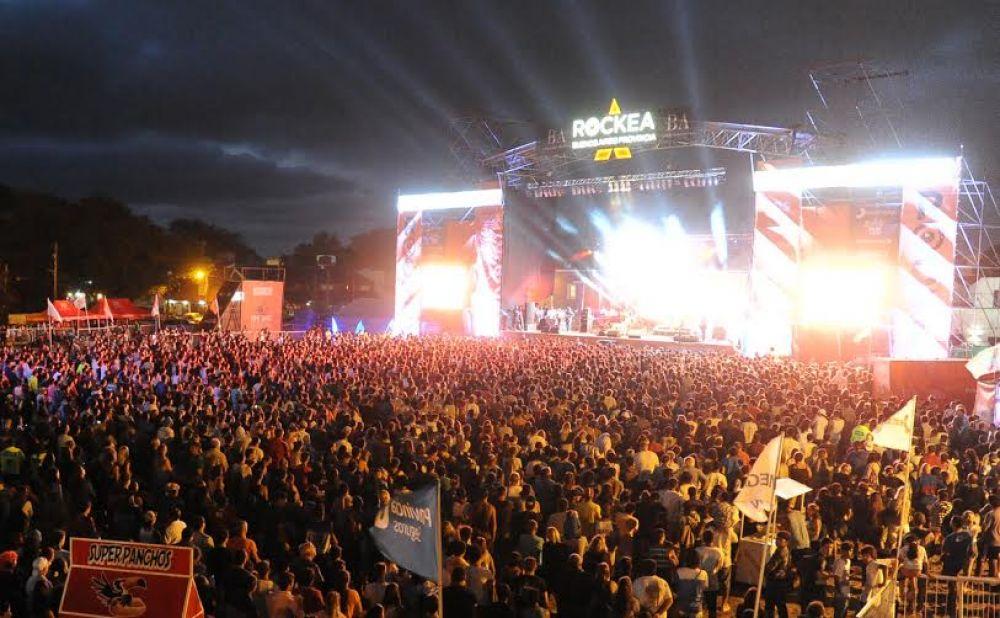 Se lanzó la tercera edición del RockeaBA en San Bernardo con un show multitudinario