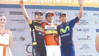 Dani Díaz Bicampeón del Tour de San Luis