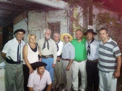 Juan Carlos Juárez estuvo en la celebración de la Agrupación Tradicionalista Virgen Gaucha