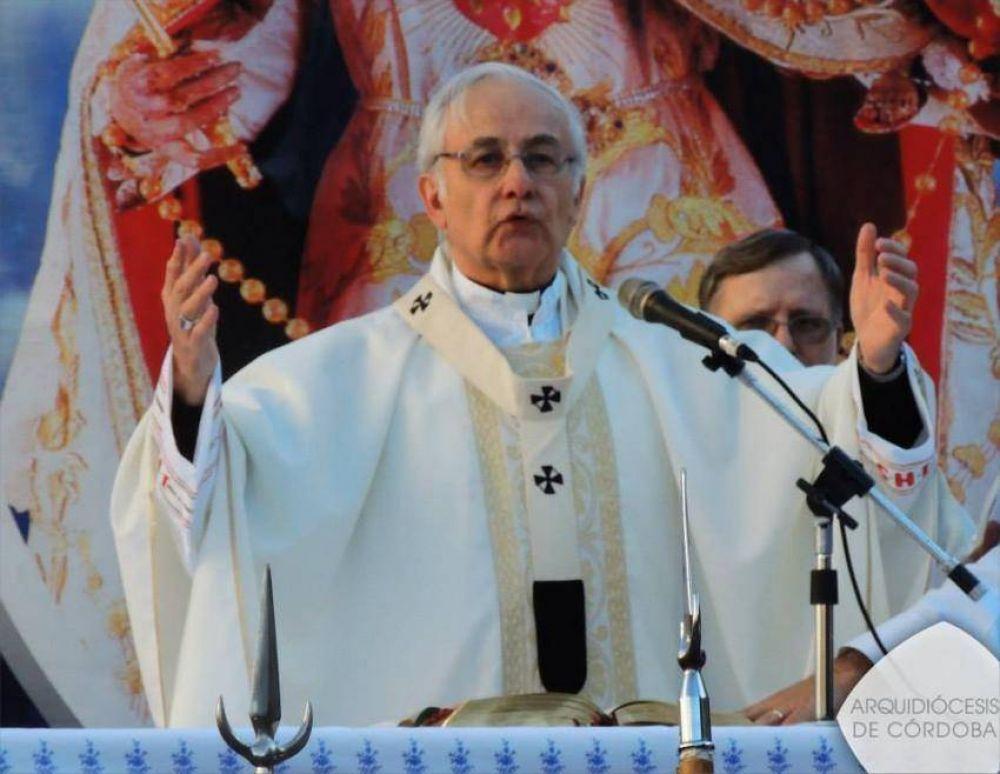 El arzobispo de Córdoba pidió que se conozca la verdad sobre el caso Nisman