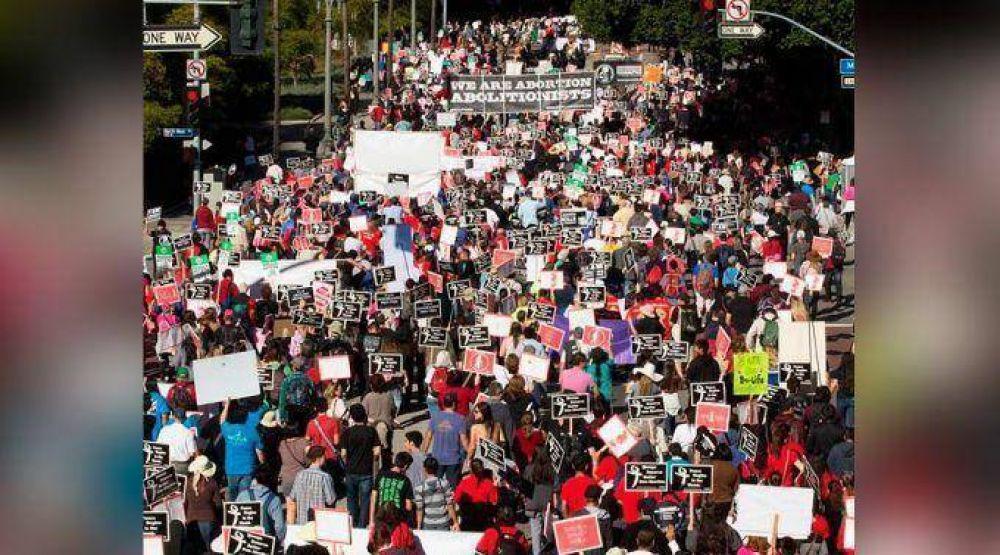 Estados Unidos: Miles marchan en defensa de la vida en Los Ángeles