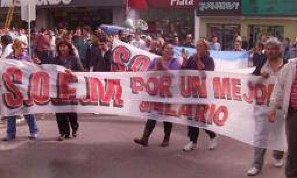 SOEM exige blanqueo salarial y recategorizaciones a estatales