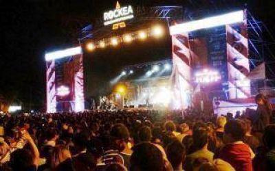 Lanzaron Rockea BA 2015 con show de La Vela Puerca en San Bernardo
