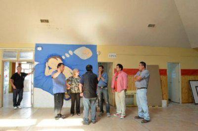 El Consejo Provincial de Educación realiza refacciones en la EPP N° 46 de Rio Gallegos