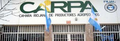 CARPA: Vaticinan un año duro en la producción riojana y apuntaron contra Tineo