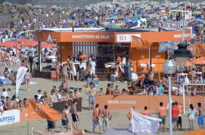 Más de 100 mil personas pasaron por Bahía Naranja