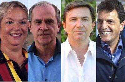 Sorpresiva reunión de los radicales Gutiérrez, Nikisch y Azula con Massa