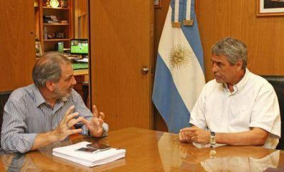 Ferraresi se reunió con el secretario de Derecho al Hábitat