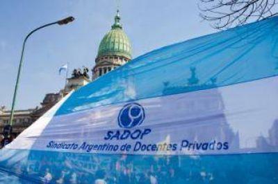 SADOP no discutirá porcentajes de las paritarias