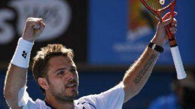Wawrinka le ganó a Nishikori y avanza a paso firme hacia un nuevo título en Australia