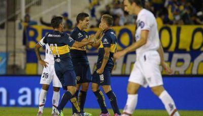 Boca le gan� a V�lez y se meti� en fase de grupos de la Libertadores