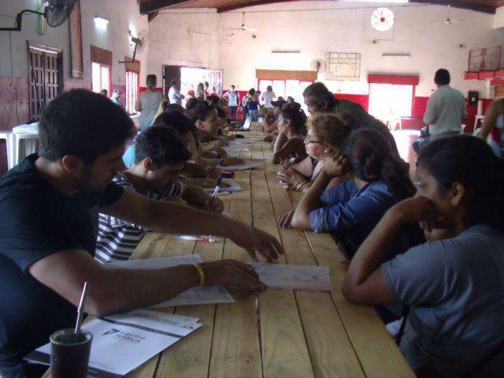 Se está realizando el reempadronamiento de los programas Argentina Trabaja y Ellas Hacen