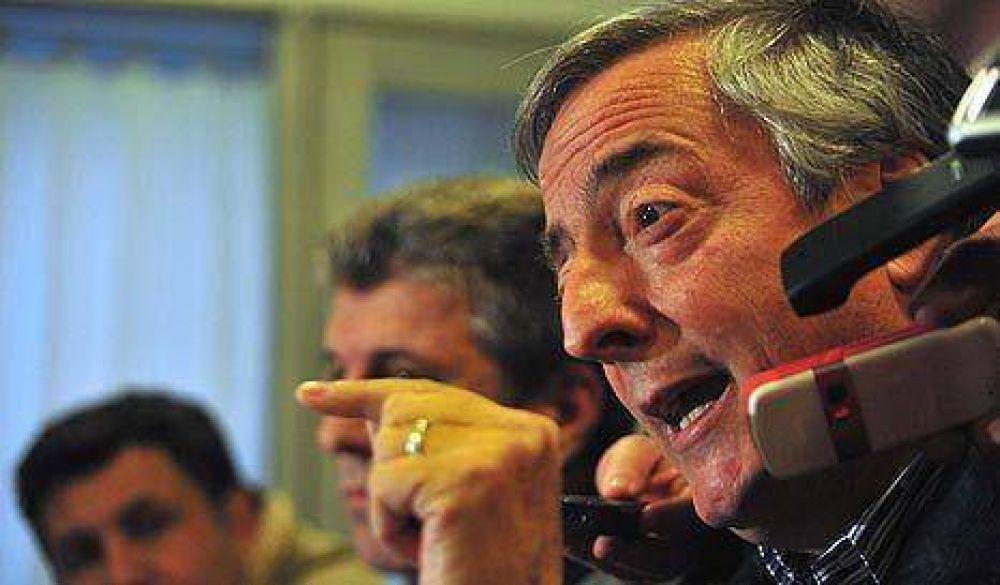 Kirchner está desatado en la cacería de traidores y tiene sed de venganza
