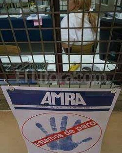 Amra anuncia un paro para el jueves de la semana próxima