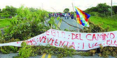 """Ruta 86: Entre los manifestantes de La Primavera hay dudosos """"discapacitados"""" oficialistas"""
