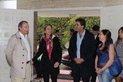 La ministra Débora Giorgi visitó el Parque Industrial Villa Flandria