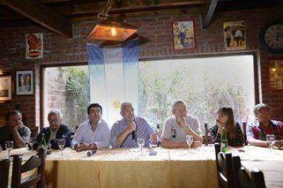 La Peña Bonaerense busca redoblar apoyo a CFK