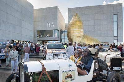 La carrera de los museos abrió la Fiesta Nacional del Automovilismo
