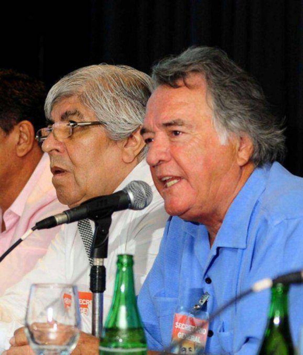 Moyano y Barrionuevo se reunieron para