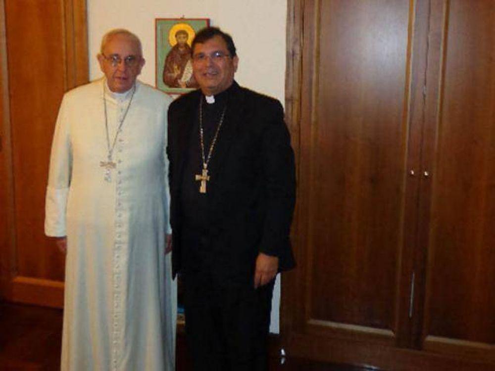 El Papa se reunió con Tissera