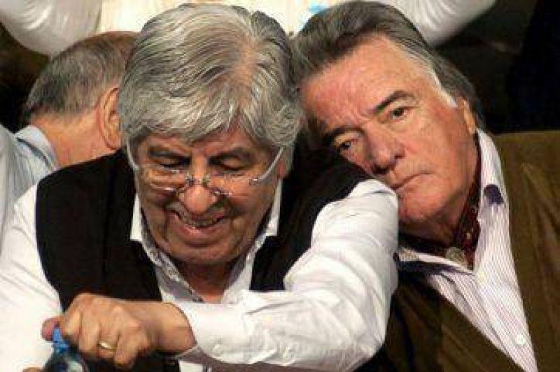 Moyano y Barrionuevo, por una CGT unida