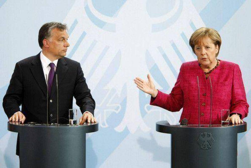 Merkel y Orban reflexionarán sobre el antisemitismo en Hungría