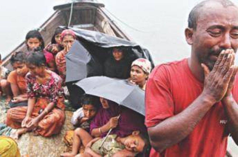 Musulmanes Rohingyas esperan reacción del mundo islámico