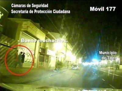 Detienen a grafiteros en las calles de Tigre