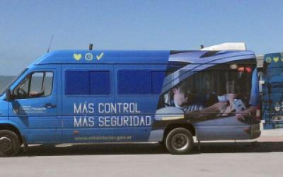 Móviles para tramitar Nuevo DNI y Pasaporte en Monte Hermoso