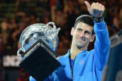 Djokovic, campeón del Abierto de Australia por quinta vez