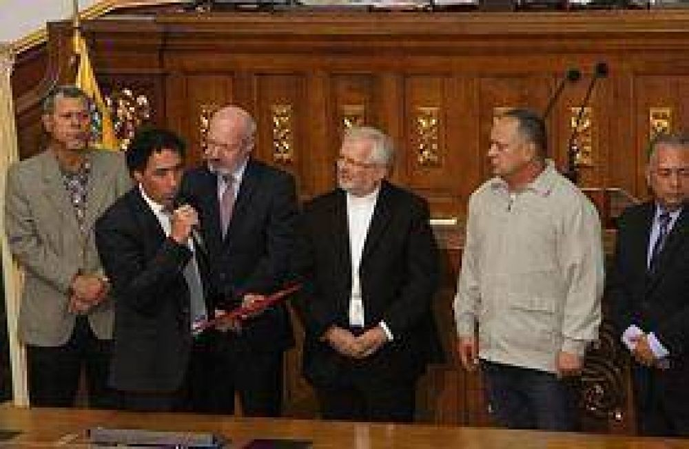 Venezuela acordó en la Asamblea Nacional el rechazo, repudio y recuerdo del Holocausto