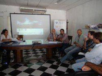 Parque industrial de Goya: presentaron un estudio ambiental