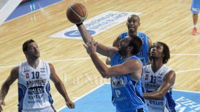 Liga Nacional: Bahía Basket cayó frente a Argentino de Junín por 94 a 85 en el Casanova