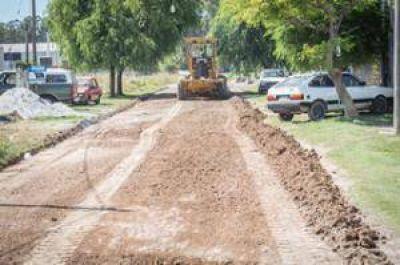 Continúan los trabajos en el marco del plan Transitar 20 Barrios II